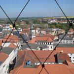 Blick vom Turm in Richtung Norden