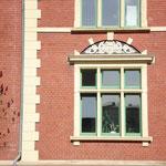 Fassadenelement in der Bleicherstraße