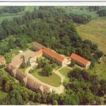 Luftaufnahme von der Landesgehörlosenschule vor dem Rückbau 2006-2008