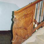 Treppengeländer in der Fritz-Reuter-Schule