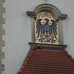 Kaiserliches Oberpostamt, Pferdemarkt 56 , errichtet 1896. Die Stadt zahlte 30 000 RM bevor der Reichstag den Bau des Gebäudes beschloss.