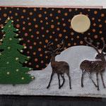 34  Hirsche im Wald - 6,00€- mit oder ohne Geldtasche - Maxi