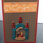 49 Krippenspiel Holz - 5,00€ - handcoloriert - Maxi