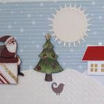 14 verkauft  Auch der Weihnachtsmann muss sich einmal ausruhen - 6,50€ - mit oder ohne Geldtasche - Maxi