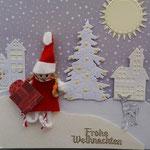 9 Püppchen als Weihnachtsmann in Geschenkbox  11,00€ - Grand