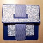 O 5 Die Taschenkarte  auch für den Herren - Grand mit handgeschöpftem ind. Papier und passendem festen Umschlag 8,00 €