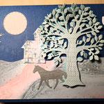 F 4 Verträumt auf Geschenkkarton -  Sonderedition 8 Karten, 8 Lesezeichen  verkauft
