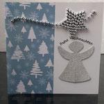 47 Engelchen mit Weihnachtsstern Silber - 4,50€ - kleine Grand