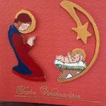 27 Maria und das Jesuskind 7,00€  - Holzarbeit und handbemalt - Grand - nur noch 1 x im Bestand