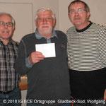 Drieter Sieger G.Vosmik (968 Punkte)