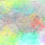 「虹色の女神たち」 姿を見ることが難しい、幻の女神です。