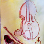 モチーフの形をよく見て描けていて、音楽を感じるね!