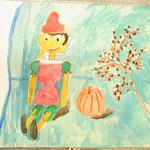 赤のピノキオに背景の色が絶妙にマッチしてます!