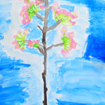 桜の凛とした様子が描けている作品になりました!