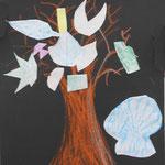 木が2本あることで奥行きが表現できていて空気感があるね!