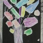 力強い木の中心に紫の芯が!冬のイメージがしてきます!