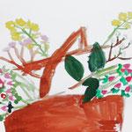 花の種類の違いがよくわかります。丁寧に描けました!