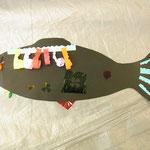 波型に切ったり丸めたり、アイデアいっぱいおしゃれな魚だね!