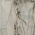 Ich bin, ich war, ich werde sein 4 / 2012 / 150 x 50 / Acryl, Acrylglas, Keilrahmen