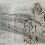 Heile Welt - ich schreibe mir meine eigene Geschichte / 2012 / 40 x 30 / Acryl, Acrylglas, Keilrahmen