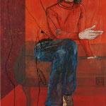 Wenn Du denkst, Du denkst.... / 2012 / 100 x 70 / Acryl, Acrylglas, Keilrahmen