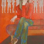 Her favorite desert / 2012 / 100 x 70 / Acryl, Acrylglas, Keilrahmen