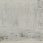 Weißt Du, wo der Himmel ist ? 1 / 2012 / 120 x 30 / Acryl, Acrylglas, Keilrahmen