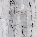 Ich bin, ich war, ich werde sein 6 / 2012 / 150 x 50 / Acryl, Acrylglas, Keilrahmen