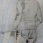 Ich bin, ich war, ich werde sein 3 / 2012 / 150 x 50 / Acryl, Acrylglas, Keilrahmen
