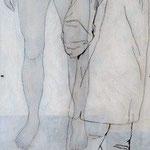 Über die Fortpflanzung 2 / 2012 / 150 x 50 / Acryl, Acrylglas, Keilrahmen