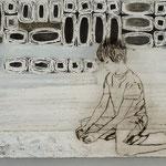 Heile Welt - Legoritter / 2012 / 40 x 30 / Acryl, Acrylglas, Keilrahmen