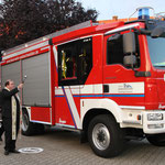 Fahrzeugsegnung Pfr. Jens Bader