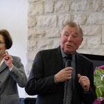 Ce fut l'occasion de remercier G. Weber qui, secondé par son épouse, fut pendant 16 ans notre trésorier.