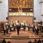 das großartige Orchester unter der Leitung von Norman Röhl