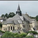 La collégiale de Candes Saint Martin