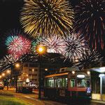 2015路面電車のある風景フォトコンテスト 推薦「彩りの街」 安田慶子