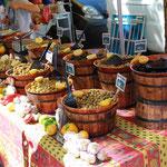 Einer der vielen Märkte in Südfrankreich