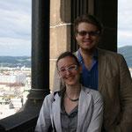 Sandra und Christoph im Höhenrausch