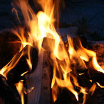 ist das Feuer echt?