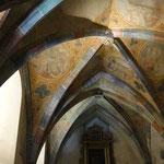 Kapelle mit freigelegter Bemalung aus dem 15. Jhdt. und barockem Altar