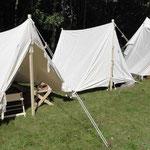 Unsere Zelte