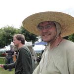 Mit Hut sieht's gleich noch besser aus