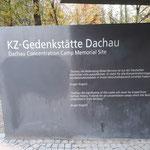 Besuch KZ Dachau 2018