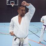 Nakayama Sensei 5.Dan JKA / Japan 2016