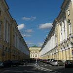 """La """"rue parfaite"""" que reconnaitront les amateurs des """"poupees russes"""""""