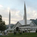La grande mosquee d'Islamabad (Attention ca rigole pas c'est la plus grande au monde qu'y disent..)