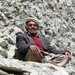 Vieillard du village de Khyber
