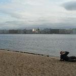 La sirene de la Neva a St-Petersbourg-Plage