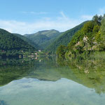Un des nombreux lacs aux eaux limpides de la région (Bosnie)