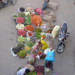 Le Laxmi market de Pushkar